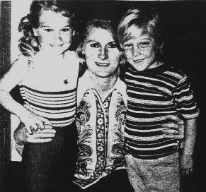 Tom Ruger with sister Loriann and mother